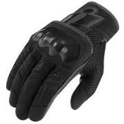 Icon Overlord Gloves Black